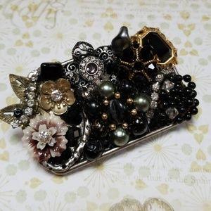 Repurposed Vintage Jewelry Belt Buckle NWT